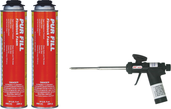 Pur Fill Fireblock Starter Level Kit