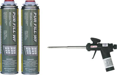 Starter Level Kits for Gun Dispensed Foam